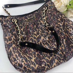 Betsy Johnson leopard print Shoulder bag